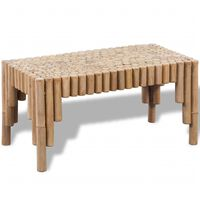 vidaXl Konferenčný stolík, bambus