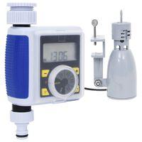 vidaXL Digitálny časovač zavlažovania s jedným výstupom a senzorom dažďa