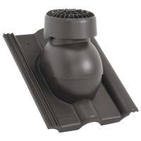 vidaXL Strešný ventilátor antracitový