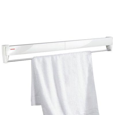 Leifheit nástenný sušiak na bielizeň Telegant Plus 100 biely 83100