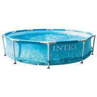 Intex Plážový bazén s kovovým rámom 305x76 cm