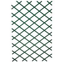 Nature Záhradná mriežka z PVC, 100x200 cm, zelená, 6040704
