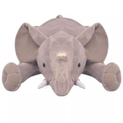 vidaXL Hračka plyšový slon, XXL, 120 cm