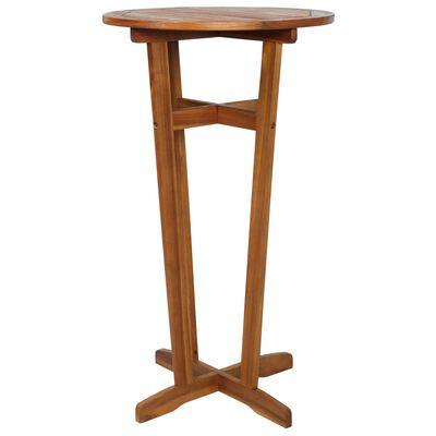 vidaXL Barový stôl 60x105 cm, akáciový masív