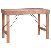 vidaXL Jedálenský stôl 120x60x80 cm, recyklovaný masív