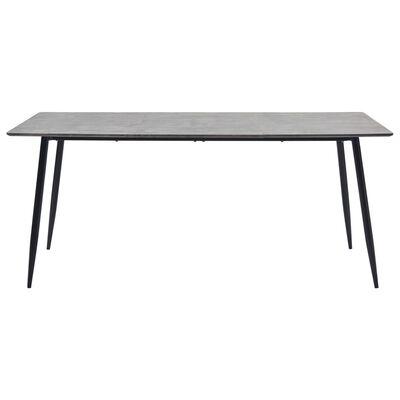 vidaXL Jedálenský stôl, sivý 180x90x75 cm, MDF