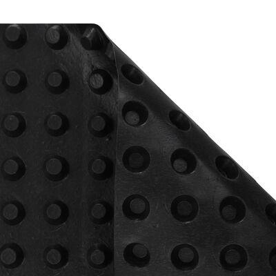 vidaXL Jamkované drenážne fólie 1x20 m HDPE 400 g/m²