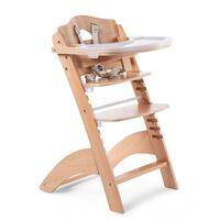 CHILDHOME 2-v-1 detská vysoká stolička Lambda 3 prírodná