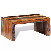 vidaXL Konferenčný stolík, recyklované drevo