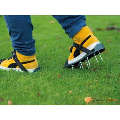 Nature Sandále na prevzdušnenie trávnika zelené