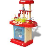 Detská hračkárska kuchyňa so zvukovými a svetelnými efektami