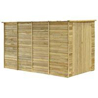 vidaXL Záhradný domček / kôlňa 315x159x178 cm impregnovaná borovica