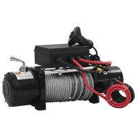 vidaXL Elektrický navijak 12 V, 5909 kg