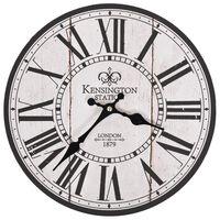 vidaXL Vintage nástenné hodiny, Londýn 30 cm