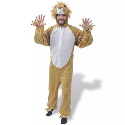 Kostým na karneval - lev, veľkosť M-L vidaXL