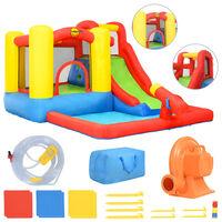 Happy Hop Nafukovací hrad so šmýkačkou a bazénikom 350x280x190 cm PVC