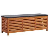 vidaXL Záhradný úložný box 150x50x55 cm masívne eukalyptové drevo