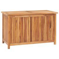 vidaXL Záhradný úložný box 90x50x58 cm masívne teakové drevo