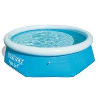 Bestway Fast Set Nafukovací bazén, okrúhly 244x66 cm 57265