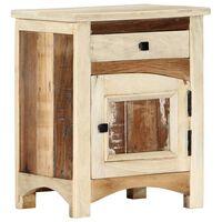 vidaXL Nočný stolík 40x30x50 cm, recyklovaný masív