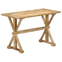 vidaXL Jedálenský stôl 140x70x76 masívne mangovníkové drevo