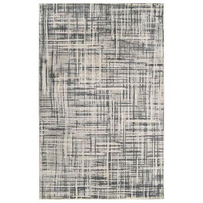 vidaXL Koberec s potlačou, béžový 160x230 cm, polyester