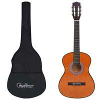 """vidaXL 8-dielna klasická gitarová sada pre deti a začiatočníkov 3/4 36"""""""