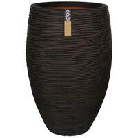 Capi Váza Nature Rib, elegantná Deluxe 40x60 cm, hnedá KOFB1131