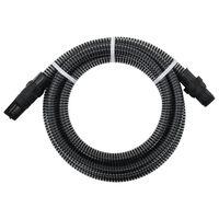 vidaXL Sacia hadica s PVC konektormi 7 m 22 mm čierna