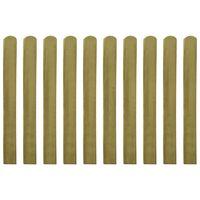 vidaXL Impregnované plotové dosky 20 ks, drevo 100 cm