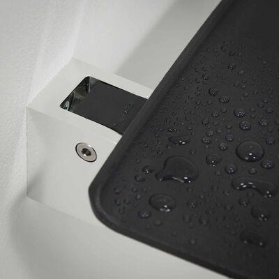 Tiger Komfortná a bezpečnostná skladacia sedačka do sprchy Boston sivá 299520346