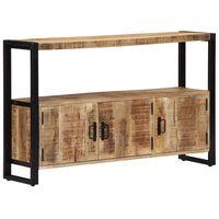vidaXL Skrinka 120x30x75 cm masívne mangovníkové drevo