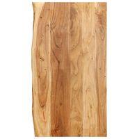 vidaXL Doska na kúpeľňovú skrinku masívne akáciové drevo 100x55x2,5 cm
