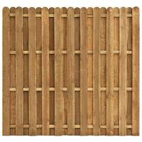 vidaXL Plotový panel, borovicové drevo 180x170 cm