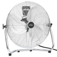 vidaXL Podlahový ventilátor 3 rýchlosti 60 cm 120 W chrómový