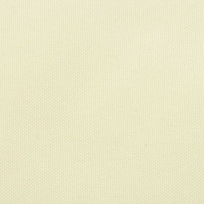 vidaXL Tieniaca plachta, oxford, obdĺžniková 3,5x4,5 m, krémová