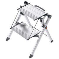 Hailo Dvojstupňový schodík Mini Comfort 45 cm hliník 4310-100