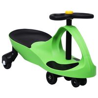 vidaXL Samochodiace autíčko pre deti s klaksónom zelené