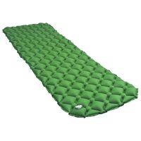vidaXL Nafukovací matrac zelený 58x190 cm