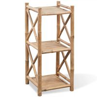 Bambusový regál s 3 poličkami