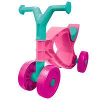 BIG Detské odrážadlo, motorka Flippi, ružovo tyrkysová