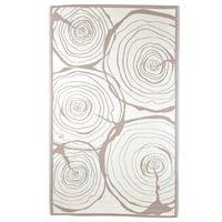 Esschert Design Vonkajší koberec 240x150 cm dizajn pňov stromov