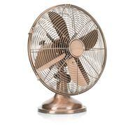 Tristar Retro stolový ventilátor VE-5970, 35 W, 30 cm, medená farba