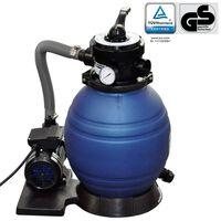 vidaXL Piesková filtrácia s čerpadlom 400 W, 11000 l/h