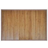 Bambusové podložky do kúpeľne, 2 ks, 40 x 50 cm, hnedé