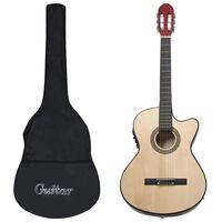 vidaXL 12-dielna sada westernovej gitary s ekvalizérom a 6 strunami