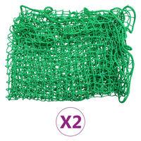 vidaXL Úchytné siete na prívesný vozík 2 ks 2,5x3,5 m PP