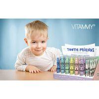 VITAMMY TOOTH FRIENDS DISPLAY detská sonická zubná kefka 18 ks + náh