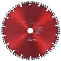 vidaXL Diamantový rezací kotúč s turbom oceľový 230 mm