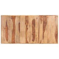 vidaXL Stolová doska, drevený masív sheesham 16 mm, 180x90 cm